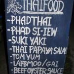 Ons Thaise restaurant