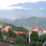 Uitzicht hotel Sapa